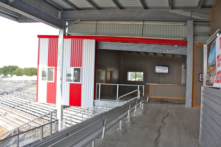 Tri-State Rodeo VIP Grand Stand - Baxter Construction Co