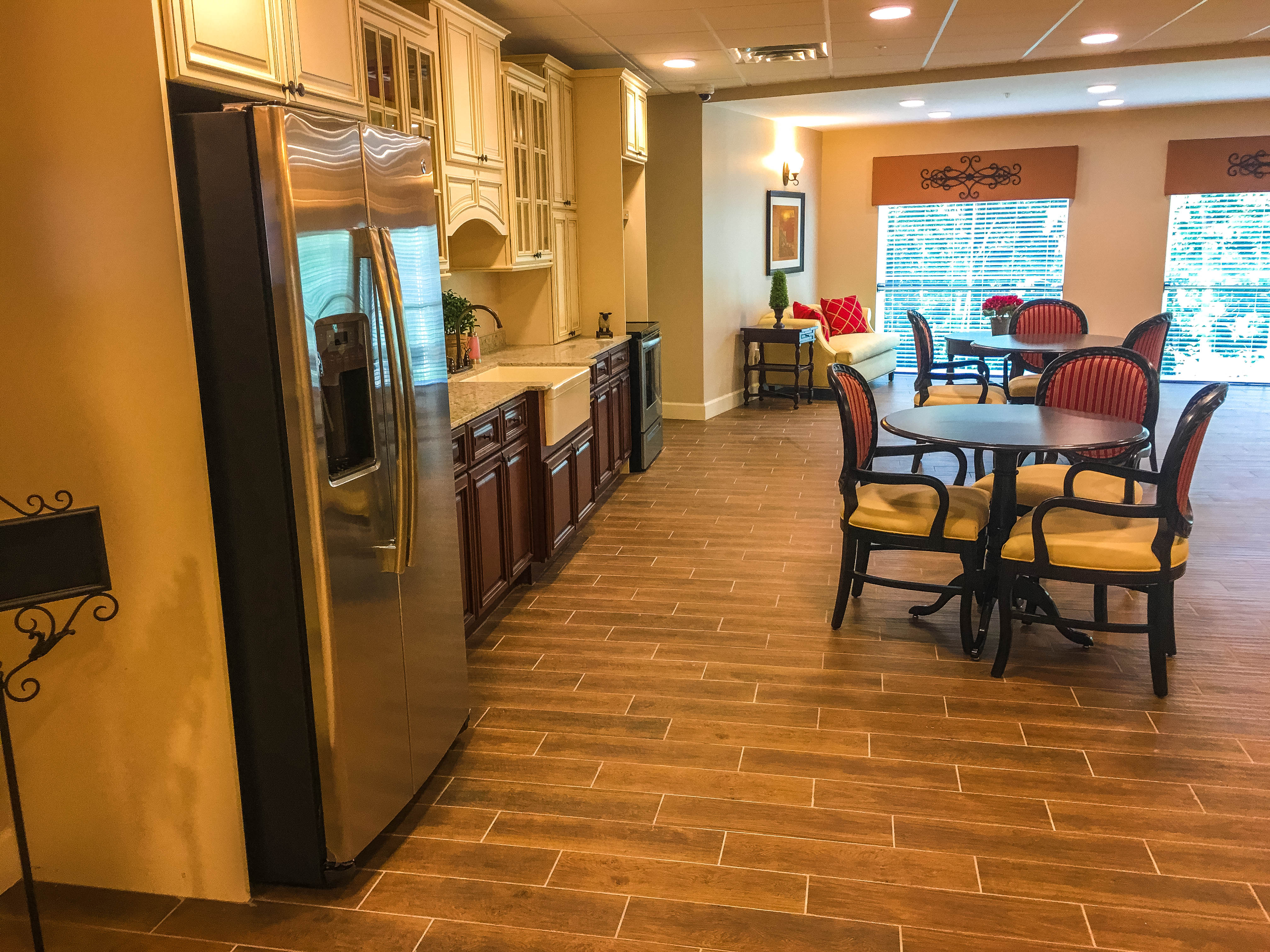... Assisted Living / Memory Care Facility Located In Alpharetta, GA. The  Facility Has A 4 Story Wing (Assisted Living) And A 1 Story Wing (Memory  Care) ...